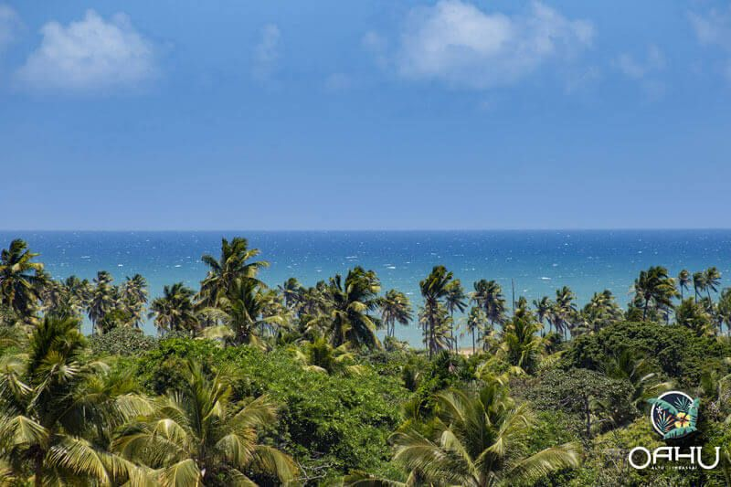 Oahu Imbassaí tem vista para o mar
