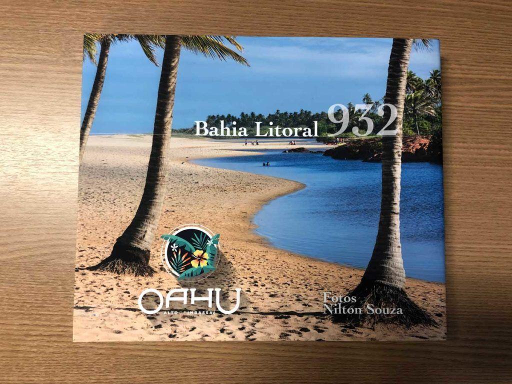Livro do fotográfo Nilton Souza reúne 260 fotos áreas do litoral baiano